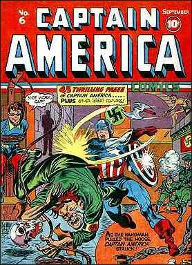 Captain America Comics (1941) 6-A by Timely