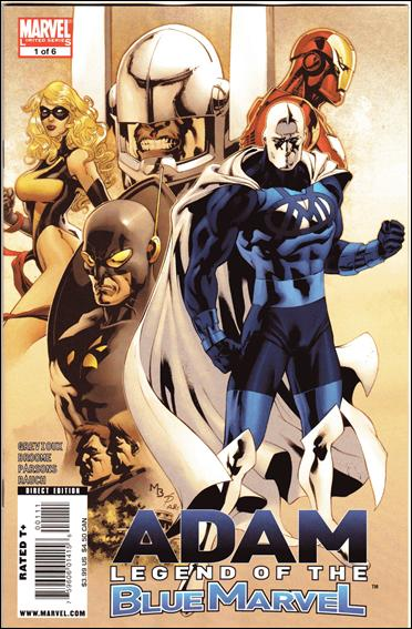 Adam: Legend of the Blue Marvel 1-A by Marvel