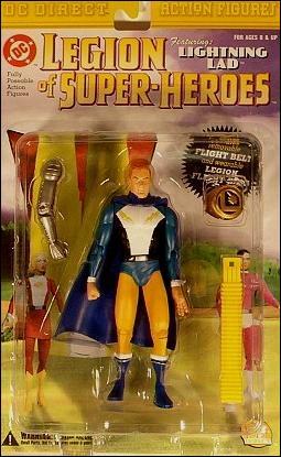 Legion Of Super Heroes Lightning Lad Jan 2001 Action