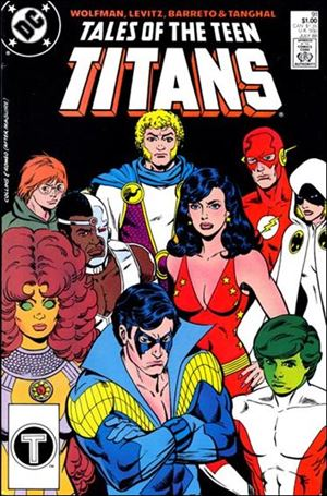 Tales of the Teen Titans 91-A