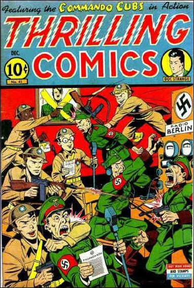 Thrilling Comics (1940) 45-A by Standard