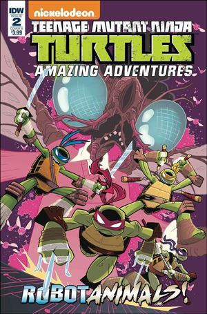 Teenage Mutant Ninja Turtles Amazing Adventures: Robotanimals 2-A