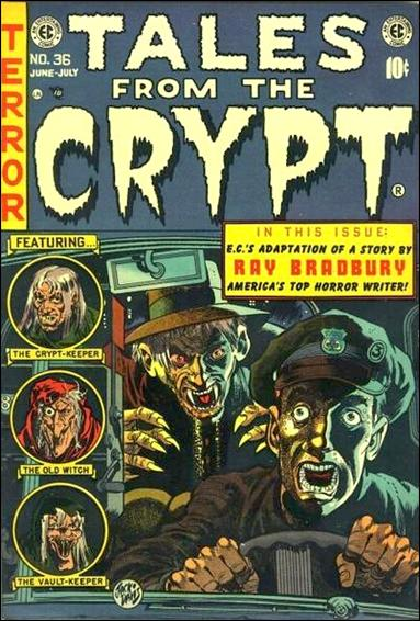 Tales from the Crypt (1950) 36-A by E.C.