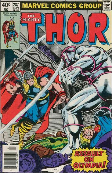 Thor (1966) 287-A by Marvel