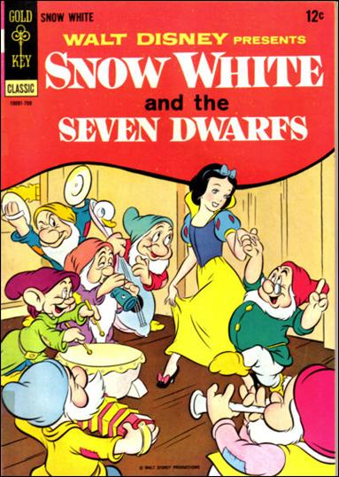 Walt Disney Presents Snow White and the Seven Dwarfs nn-A by Gold Key