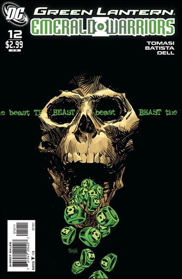 Green Lantern: Emerald Warriors 12-A by DC