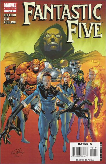 Fantastic Five (2007) 1-A by Marvel