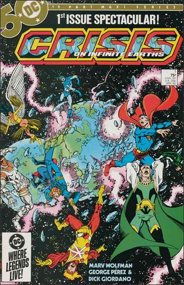 Crisis on Infinite Earths 1-A by DC