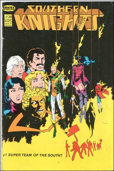 Southern Knights (1985) 28-A by Comics Interview