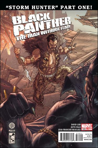 Black Panther: The Man Without Fear 519-A by Marvel