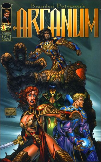 Arcanum 1-B by Top Cow