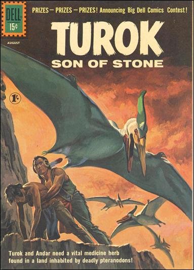 Turok, Son of Stone (1956) 24-B by Gold Key