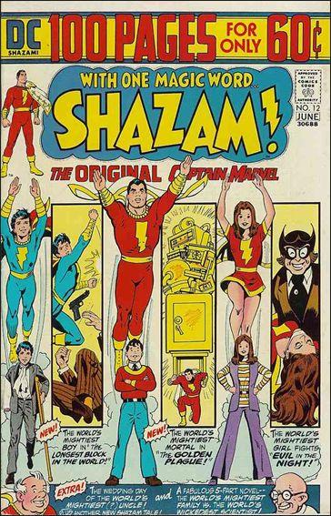 Shazam! 12-A by DC