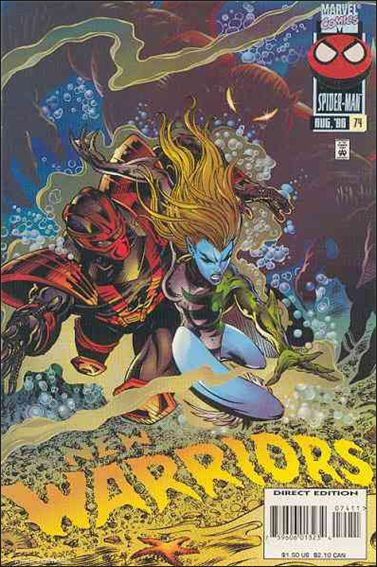 New Warriors (1990) 74-A by Marvel