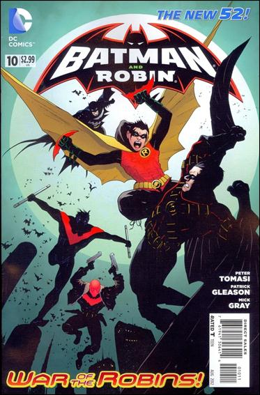 Batman and Robin (2011) 10-A by DC