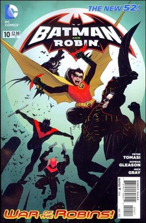 Batman and Robin (2011) 10-A