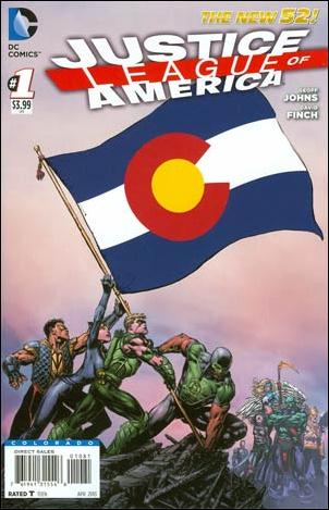 Justice League of America (2013)  1-MF by DC