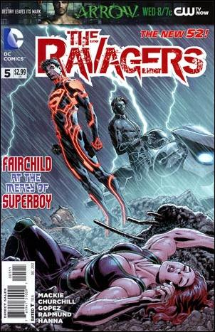Ravagers 5-A by DC