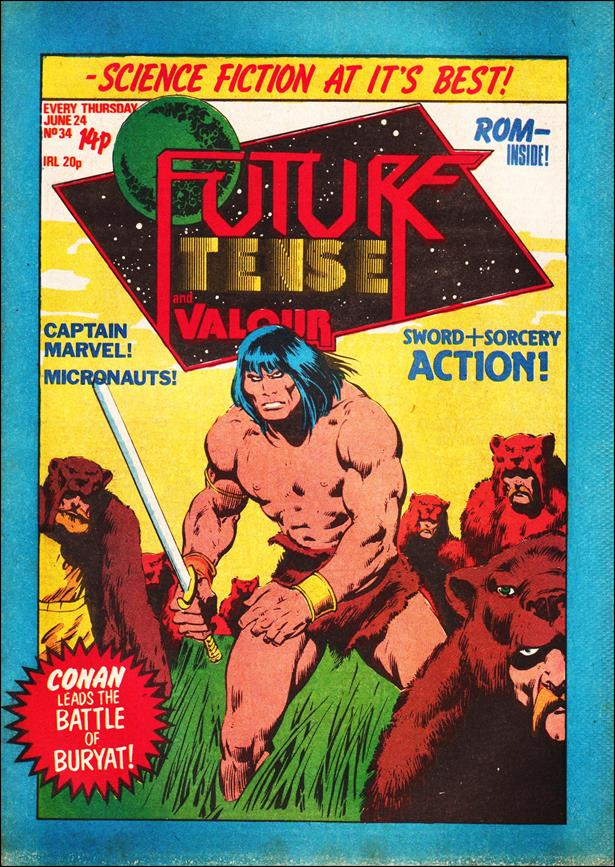 Future Tense (UK) 34-A by Marvel UK