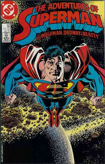 Adventures of Superman (1987) 435-A by DC
