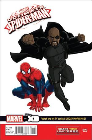 Ultimate Spider-Man (2012) 25-A