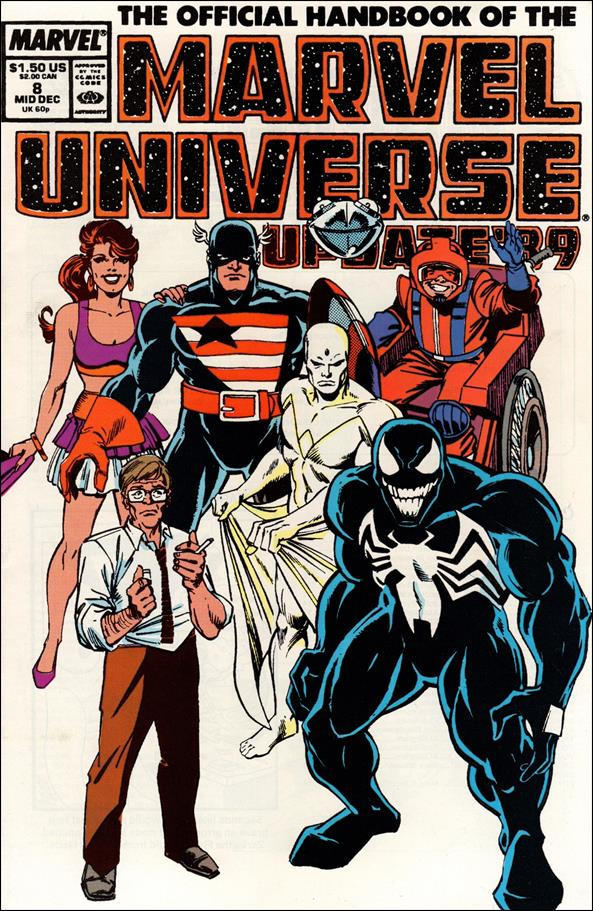 Official Handbook of the Marvel Universe (1989) 8-A by Marvel