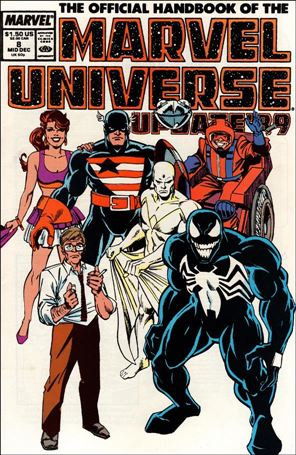 Official Handbook of the Marvel Universe (1989) 8-A