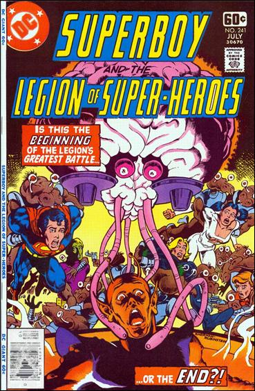 Superboy and the Legion of Super-Heroes 241-A by DC