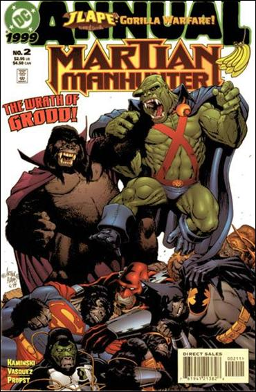 Martian Manhunter Annual  2-A by DC