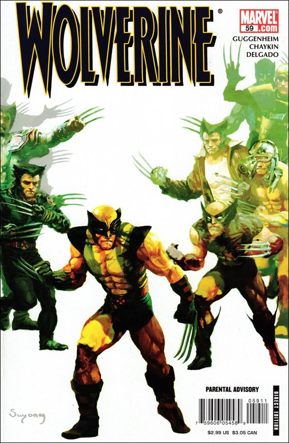 Wolverine (2003)  59-A by Marvel