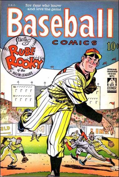 Baseball Comics 1-A by Will Eisner Productions