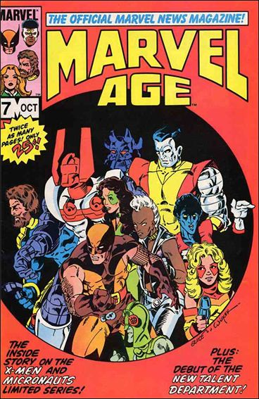 Marvel Age 7-A by Marvel