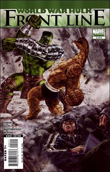 World War Hulk: Front Line 2-A by Marvel