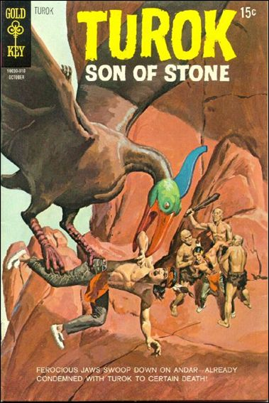 Turok, Son of Stone (1956) 71-A by Gold Key
