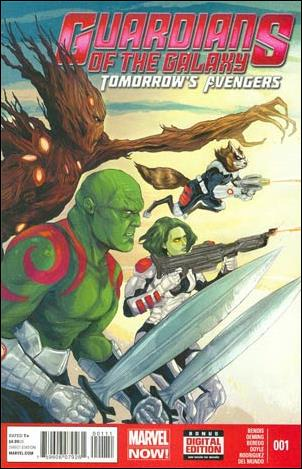 Guardians of the Galaxy: Tomorrow's Avengers 1-A by Marvel