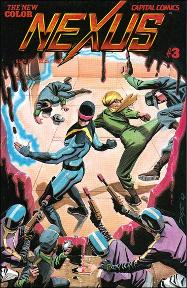 Nexus (1983) 3-A by Capital Comics