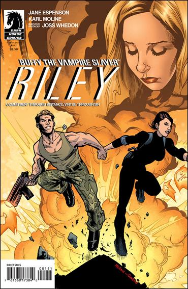 Buffy the Vampire Slayer: Riley 1-B by Dark Horse