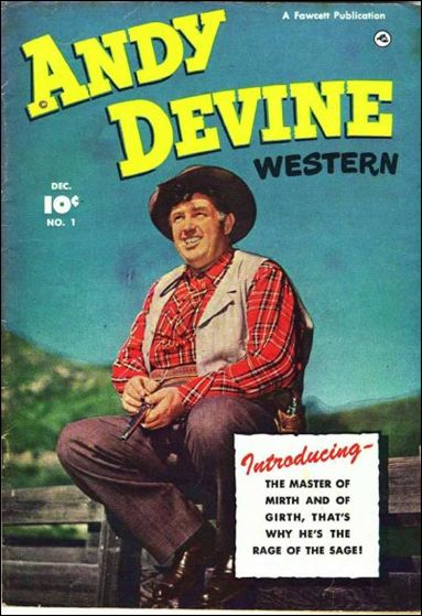 Andy Devine 1-A by Fawcett