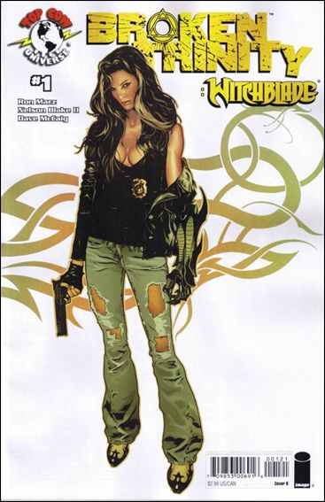 Broken Trinity: Witchblade 1-B by Top Cow