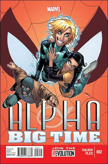 Alpha: Big Time 2-A by Marvel