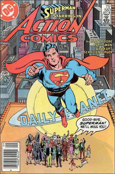 Action Comics (1938) 583-A by DC