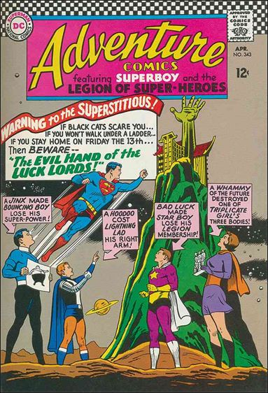 Adventure Comics (1938) 343-A by DC