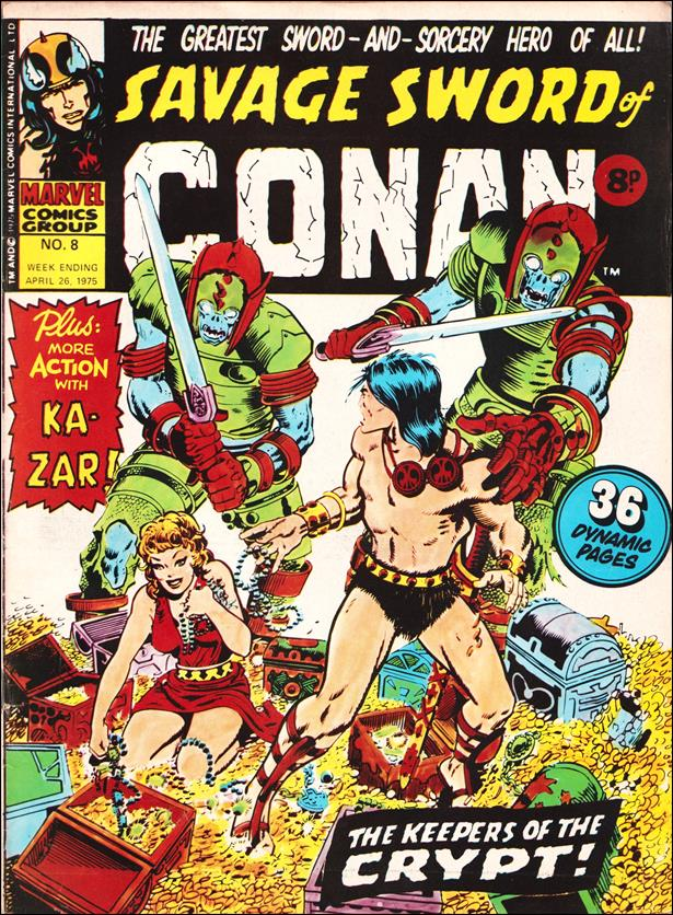Savage Sword of Conan (UK) (1975) 8-A by Marvel UK