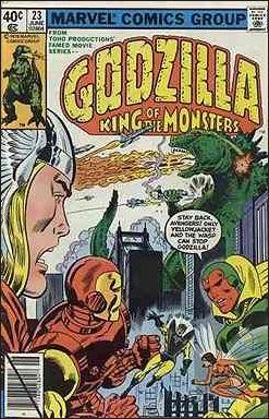 Godzilla (1977) 23-A by Marvel