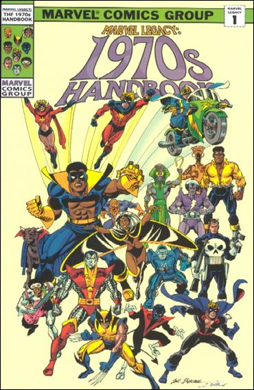 Marvel Legacy: The 1970s Handbook 1-A by Marvel