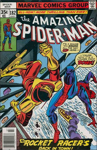 Amazing Spider-Man (1963) 182-A by Marvel