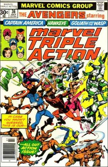 Marvel Triple Action (1972) 36-A by Marvel