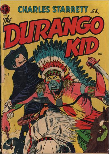 Durango Kid (1949) 9-A by Magazine Enterprises