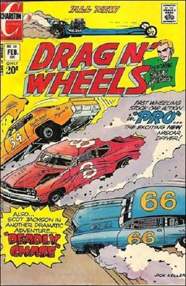 Drag N' Wheels 58-A by Charlton