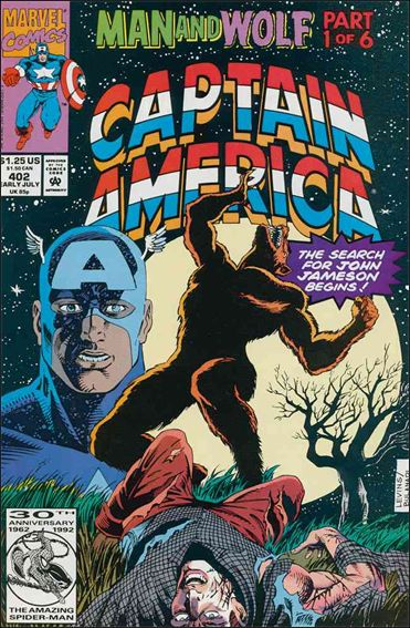 Captain America (1968) 402-A by Marvel